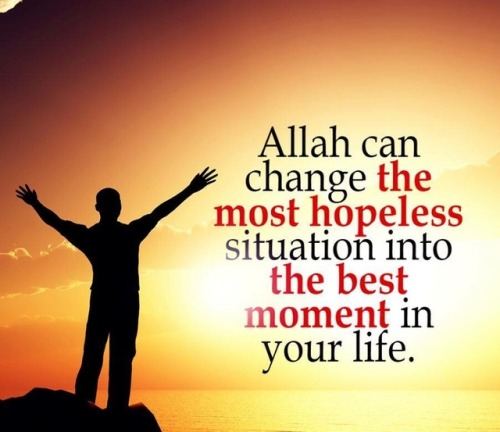 Allah SWT Has Already Planned Your Life. If Something Goes Wrong, It Went  Wrong For A Reason.