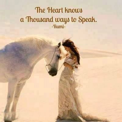 rumi quotes - The heart knows a thousand ways to speak.