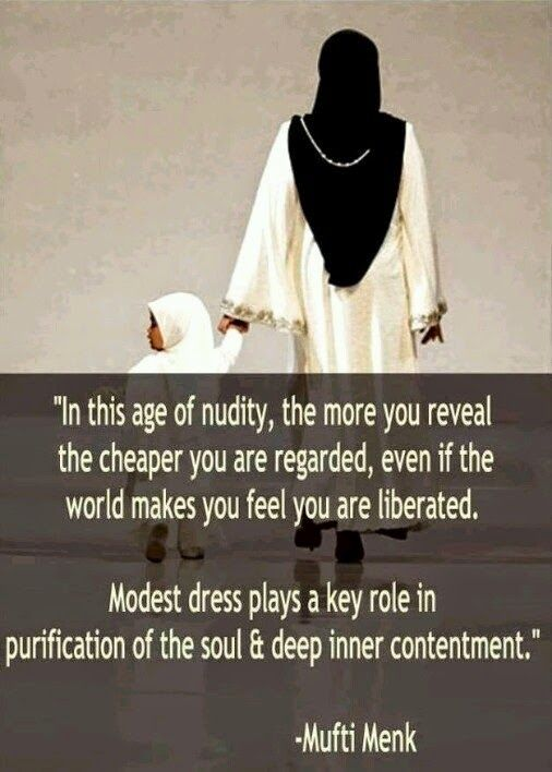 mufti menk quotes on hijab