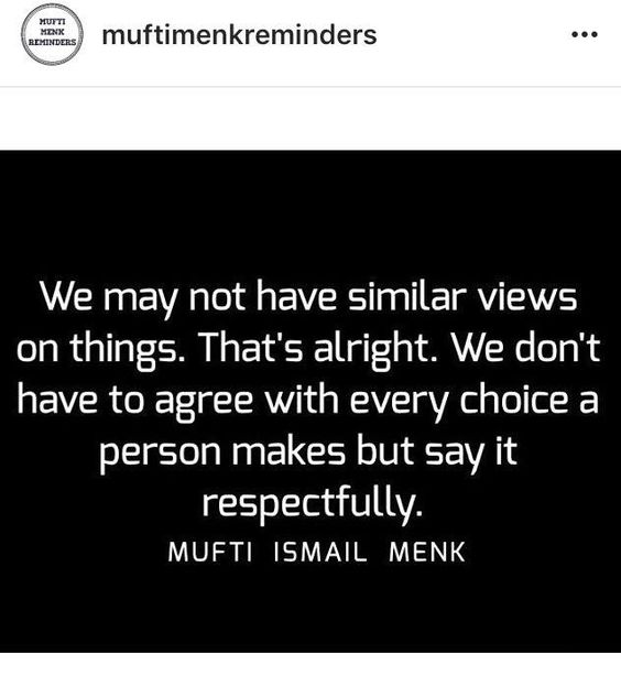 sheikh mufti ismail menk quotes
