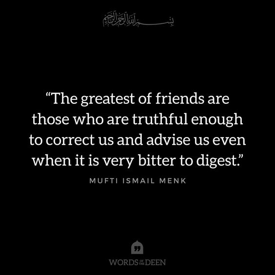 mufti menk friendship quotes